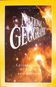 """National Geographic, January 2000, """"CELEBRATIONS OF EARTH AND BEYOND"""""""