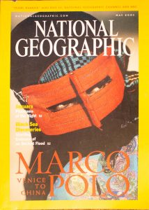 """National Geographic, May 2001, """"MARCO POLO, VENICE TO CHINA"""""""
