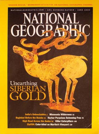 "National Geographic, June 2003, ""Unearthing Siberian Gold"""