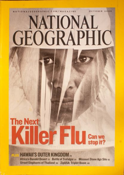 """National Geographic, October 2005, """"The Next Killer Flu Can we stop it?"""""""