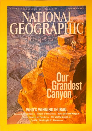 "National Geographic, January 2006, ""Our Grandest Canyon"""