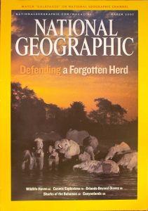 """National Geographic, March 2007, """"Defending a Forgotten Herd"""""""
