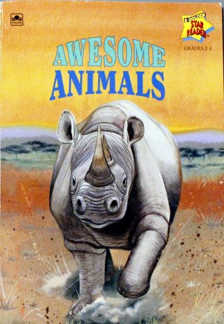 Awesome Animals by Gina Ingoglia - A Golden Star Reader Book
